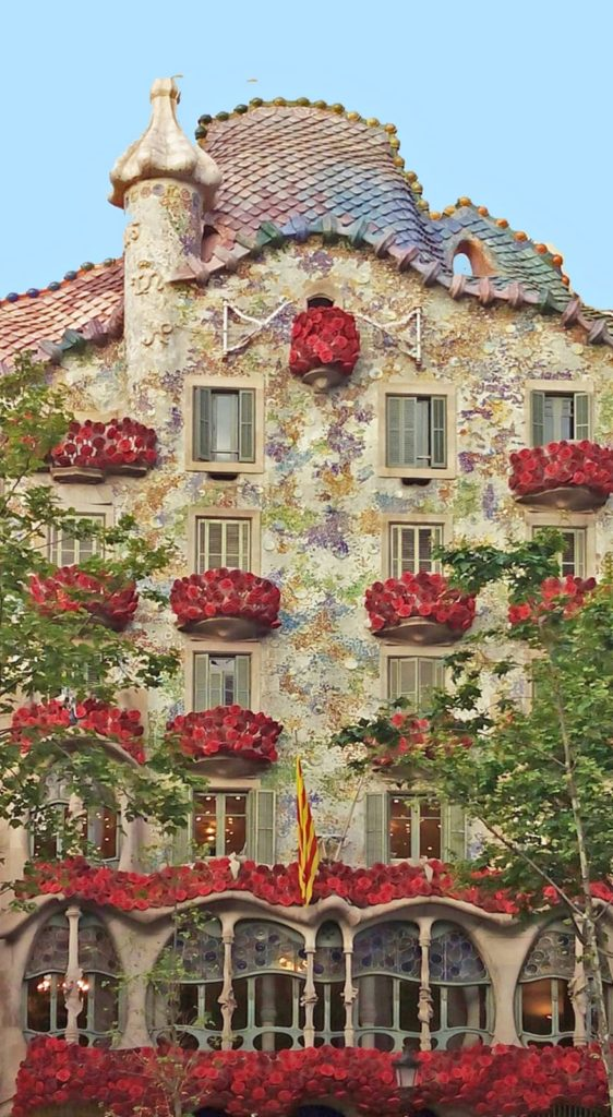 casa Batllo, Barcelona, Hiszpania