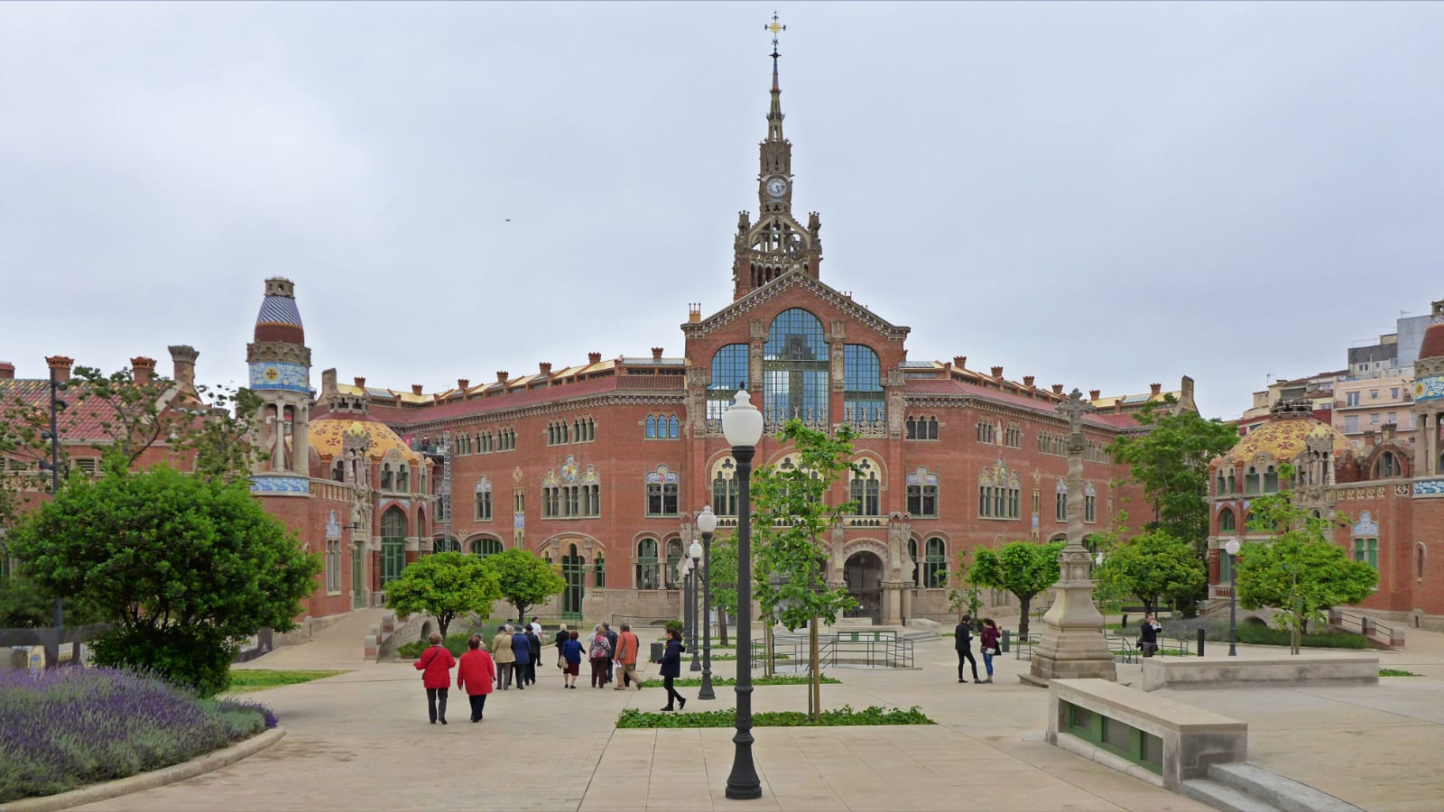 szpital św. Pawła, Barcelona, Hiszpania