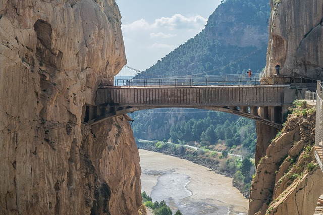 caminito del rey, Andaluzja, Hiszpania