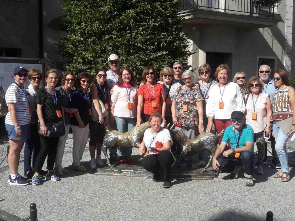 moja grupa,Turyści, zwiedzanie