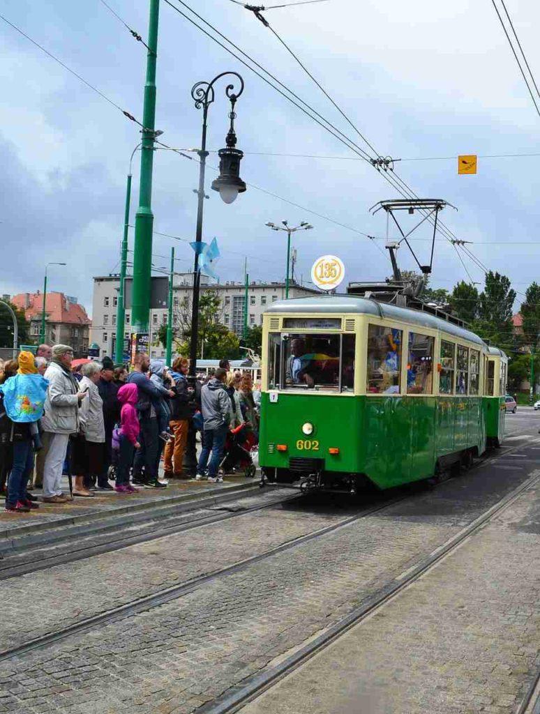 stary tramwaj, Poznań