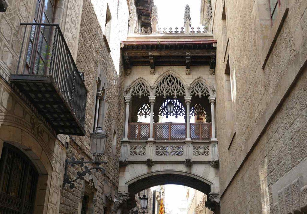 starówka Barcelona