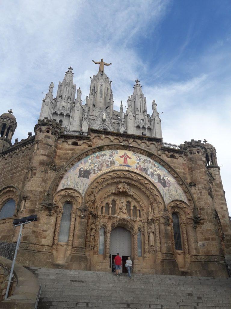 Górny kościół Tibidabo