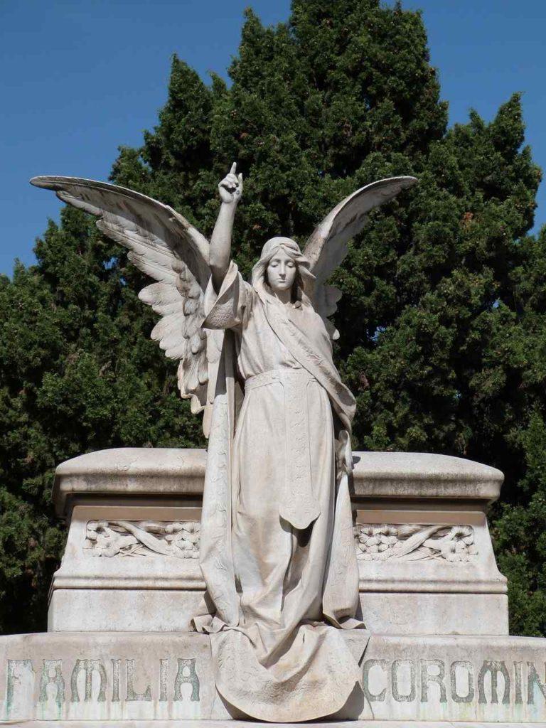 figura cmentarz Montjuic