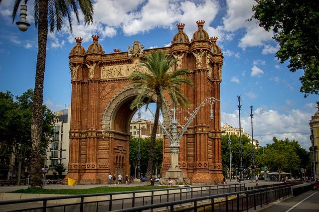 łuk triumfalny Barcelona