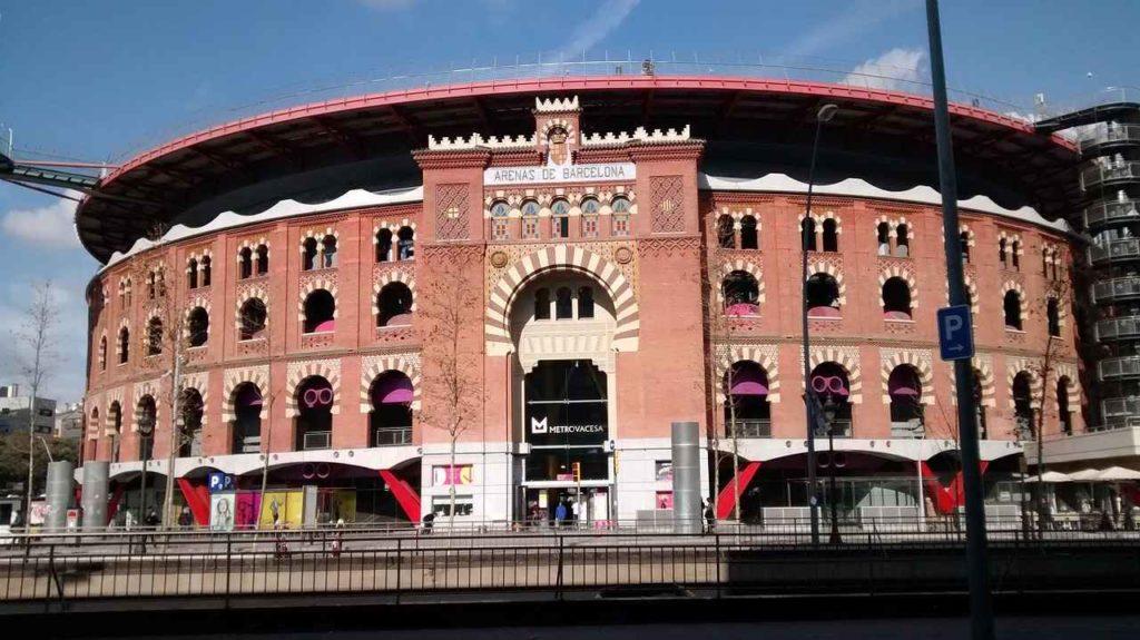 Barcelona dawna arena