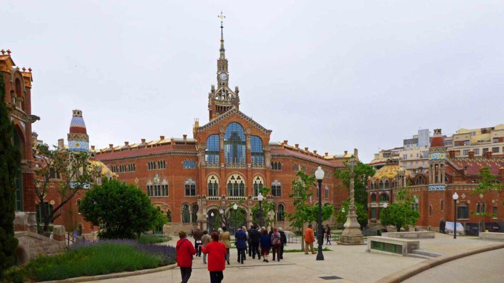 Fasada szpital świętego Pawła