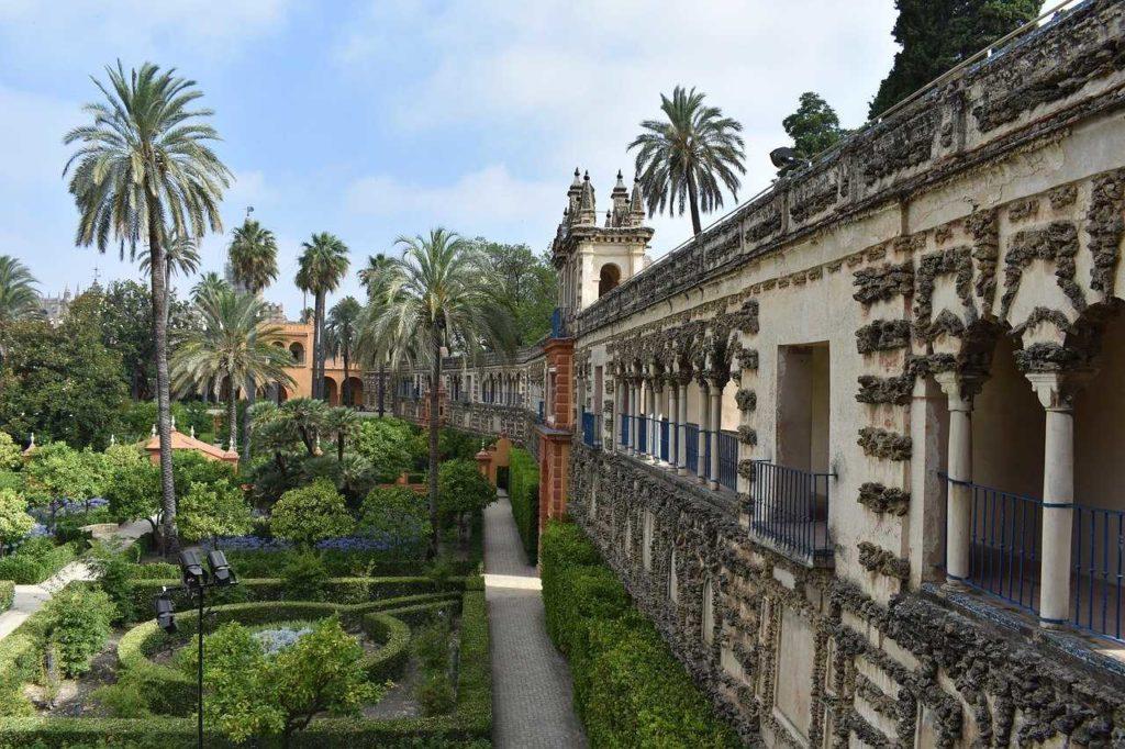 ogrody Alkazaru Sevilla