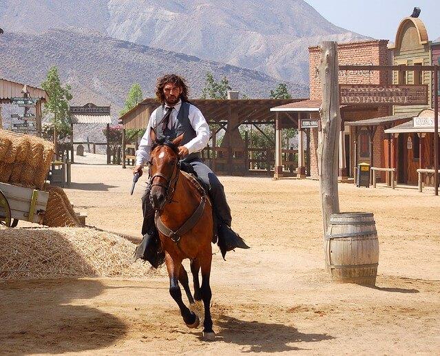 sceny rodem z westernów - pustynia Tabernas