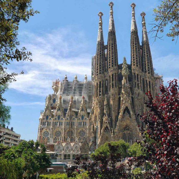 Sagrada Familia, Barcelona, Hiszpania